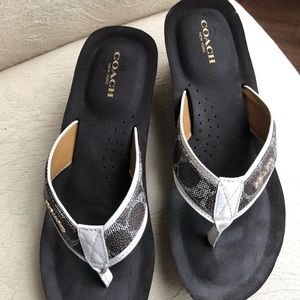 Coach sandals size 8.5